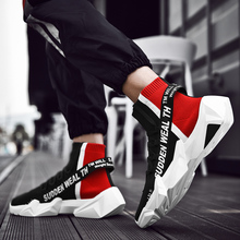 Shoes Men's Trendy Shoes 2019 New Summer Air-permeable Net Red Leisure Trend Baitao Sports High-Band aj1 Basketball Shoes