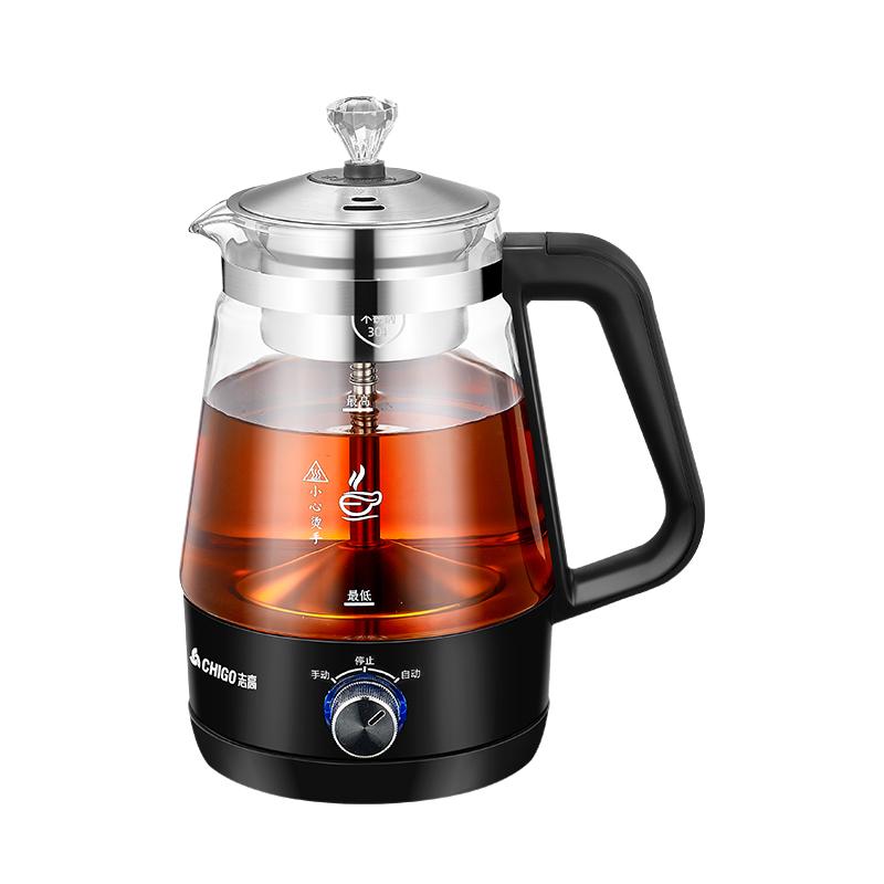 志高全自动玻璃蒸汽家用电煮茶器好不好