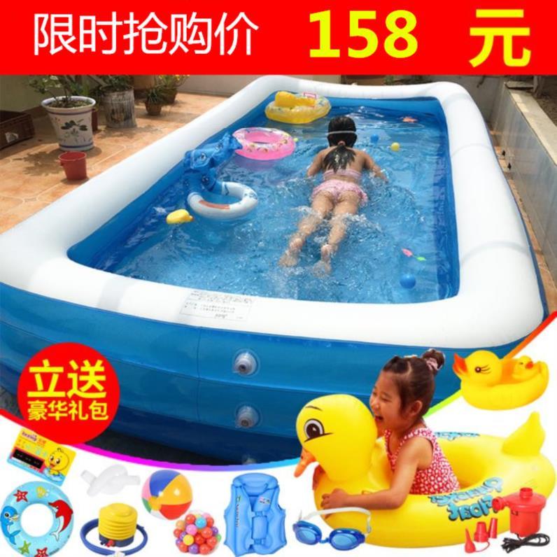 娃娃防漏婴儿游泳池家用可折叠游乐商用电泵浴缸大号儿童用品庭院10-17新券