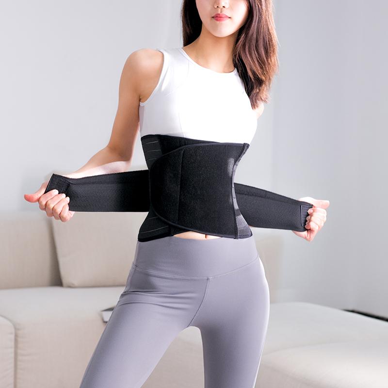 专业健身束腰带运动腰封产后收腹绑带深蹲硬拉透气护腰女塑身衣 - 封面