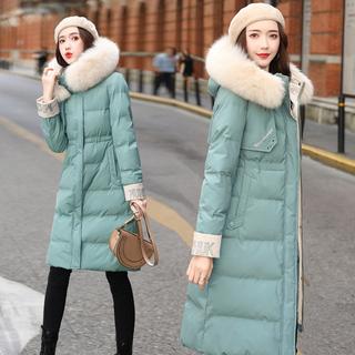 棉衣女中长款2019年冬季新款女装韩版宽松ins仙女羽绒棉服棉袄潮