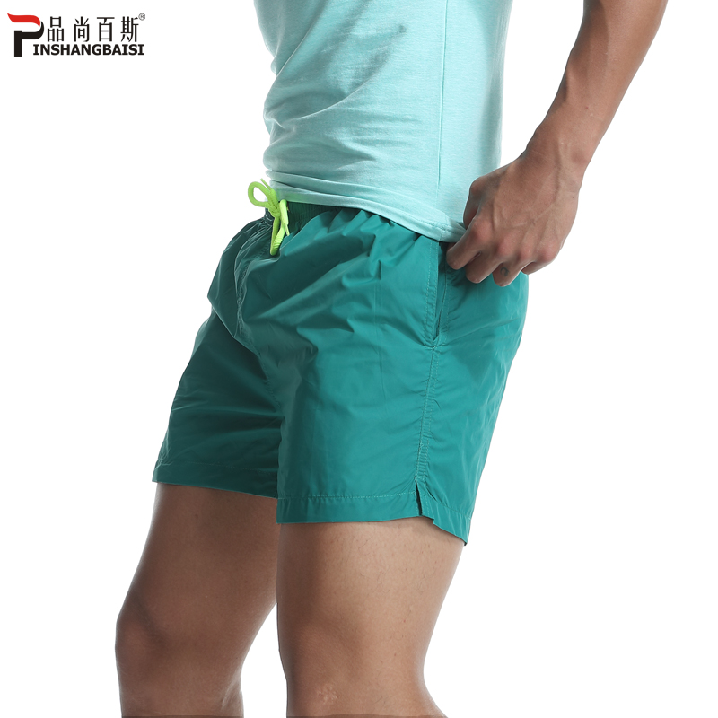 Sports shorts Men Summer Beach Trousers Loose Running Speed Dry Three-point Trousers Fitness Leisure 3-point Super Short Trousers Men
