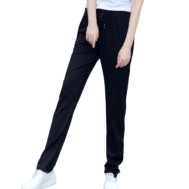 新款显瘦百搭夏季高腰加长子运动裤质量如何?