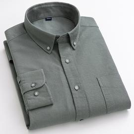 全棉男士长袖衬衫纯棉夏季薄款韩版休闲潮流宽松户外速干衬衣外套