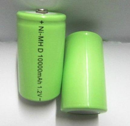 1号充电电池一号充电电池10000毫安 1号电池 热水器煤气灶用1.2v