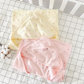 夏秋季襁褓包巾纯棉婴儿产房抱被新生儿包被抱毯四季宝宝用品被子图片
