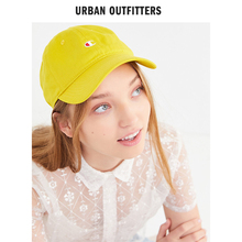 帽子 冠军刺绣logo帆布棒球帽2019新款 Champion UO遮阳女鸭舌帽