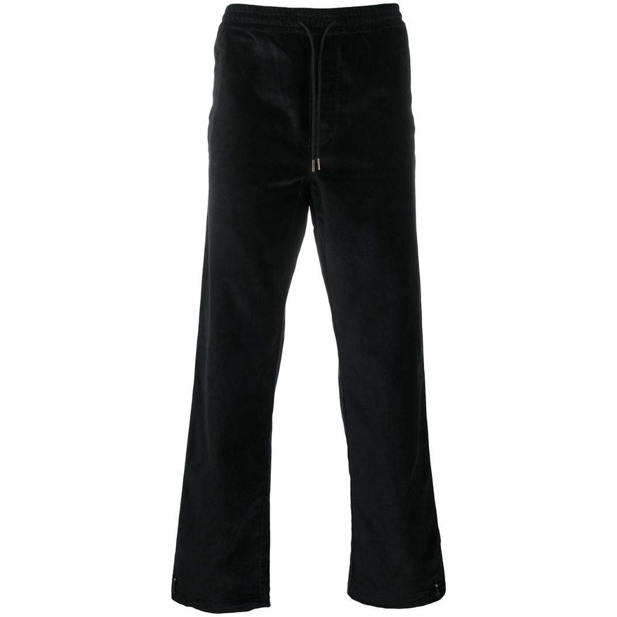 代购Maharishi 丝绒效果运动长裤男2021新款奢侈品