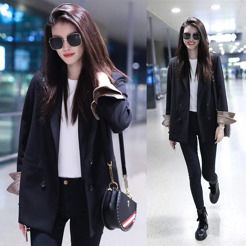 Small suit womens professional coat top formal casual suit