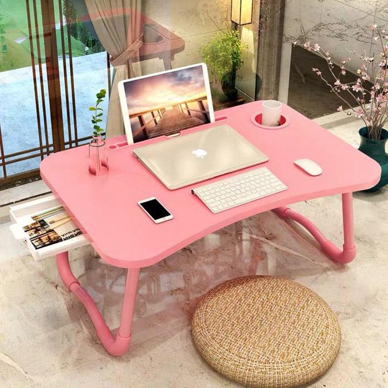 折叠床上书桌电脑桌子宿舍折叠神器学生用的笔记本小桌子懒人学习