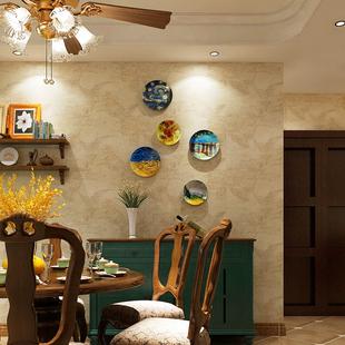 欧式创意家居背景墙面装饰品 梵高油画餐厅客厅卧室装饰挂件摆件
