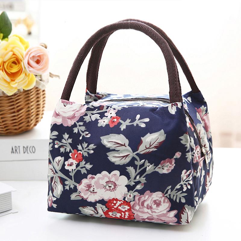 手提包便当包饭盒袋女士小布包手拎包化妆包收纳整理包妈妈买菜包