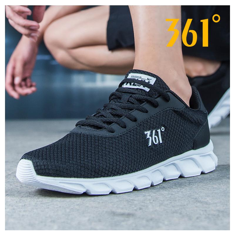 361运动鞋男鞋夏正品官方专卖网面透气361度男士跑鞋休闲跑步鞋