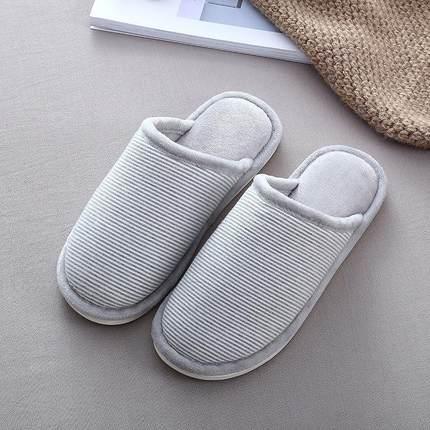 单冬天棉拖鞋好看可爱厚底韩版棉拖个性棉拖鞋男款家居室内