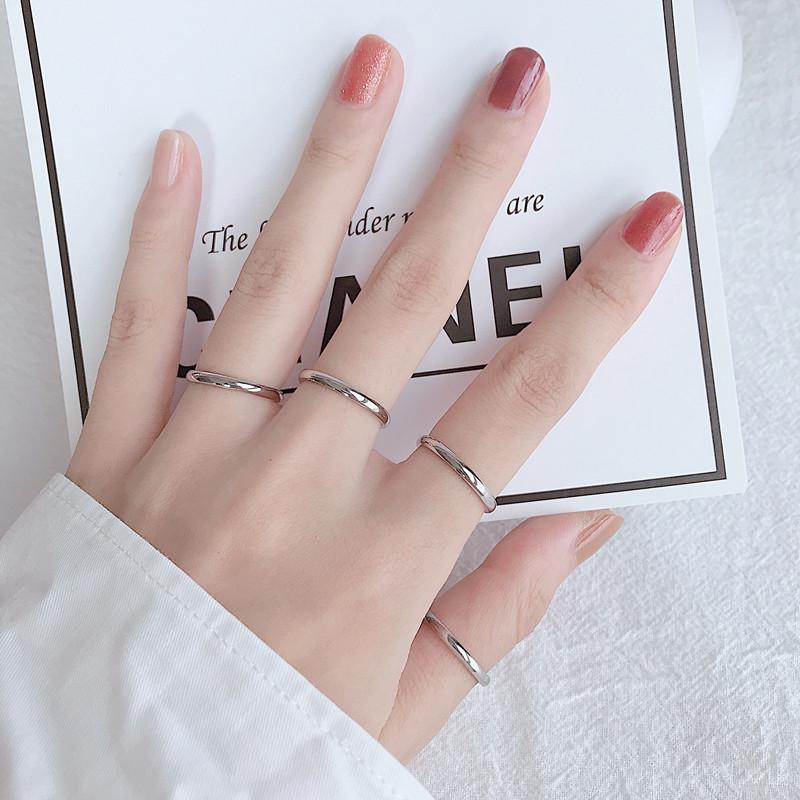 9.90元包邮女ins简约超细尾戒小指关节戒指