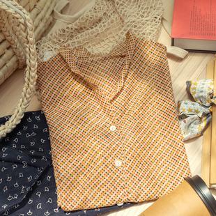 真絲綿復古長袖襯衫女設計感小眾防曬衣新款蠶絲棉薄款法式上衣
