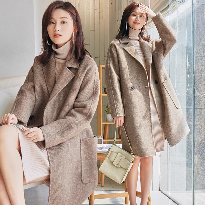反季赫本风大衣森系外套中长款韩版