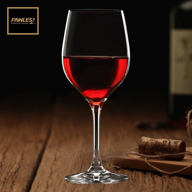 弗羅薩紅酒杯高腳杯玻璃杯一體成型大號無鉛水晶玻璃家用葡萄酒杯