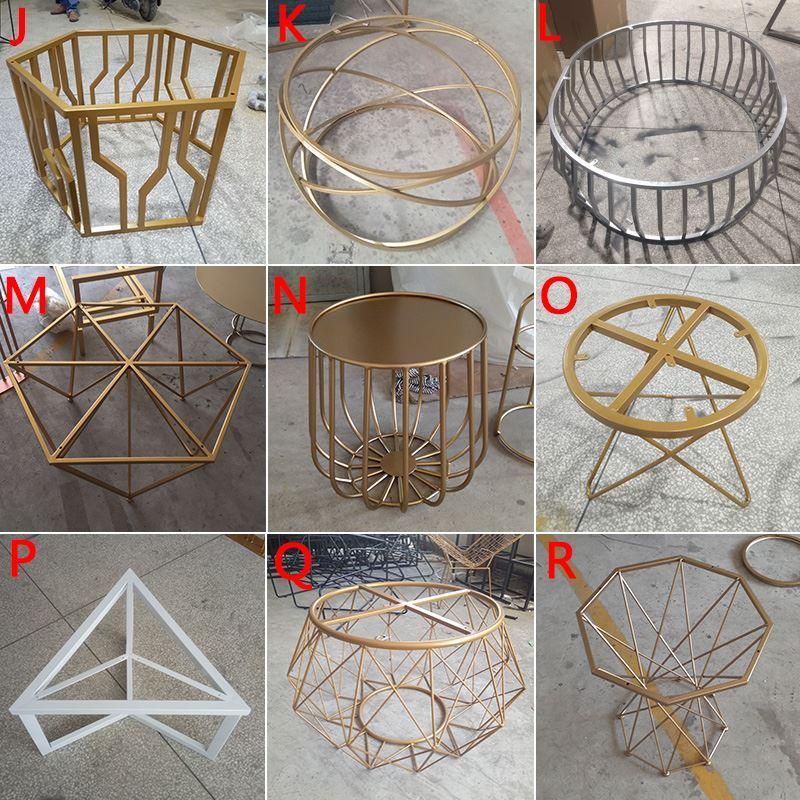 铁艺餐原木桌脚长方形加厚餐台脚定制腿不锈钢折叠架支架餐台脚
