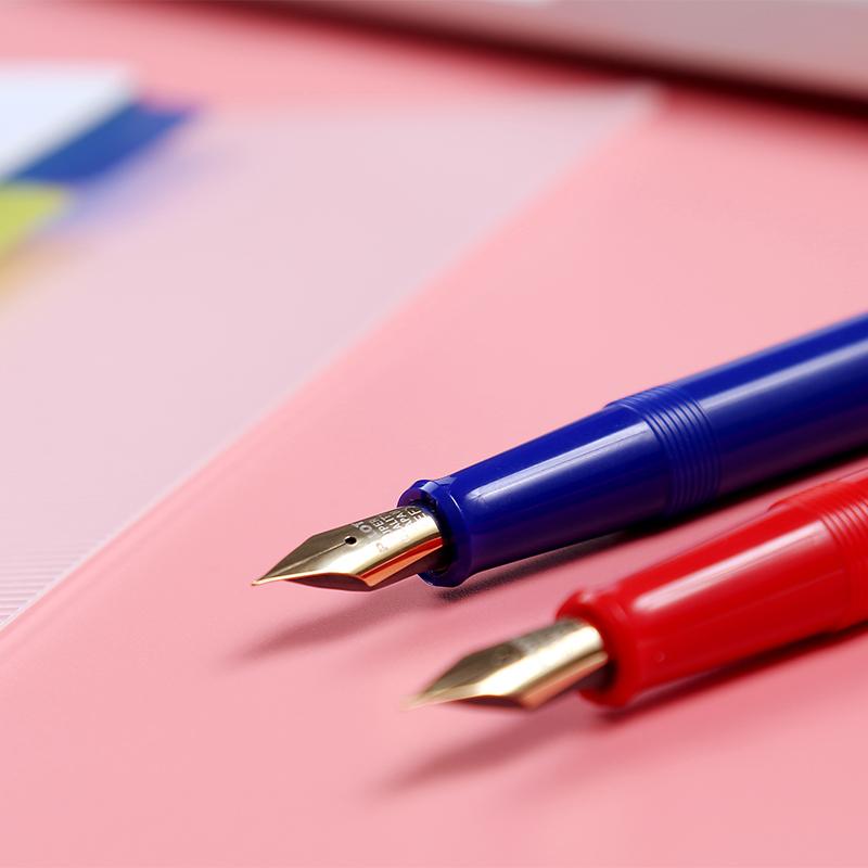 金尖笔 不过百 百乐78G+钢笔 新款透明 78g升级版 经典万年笔