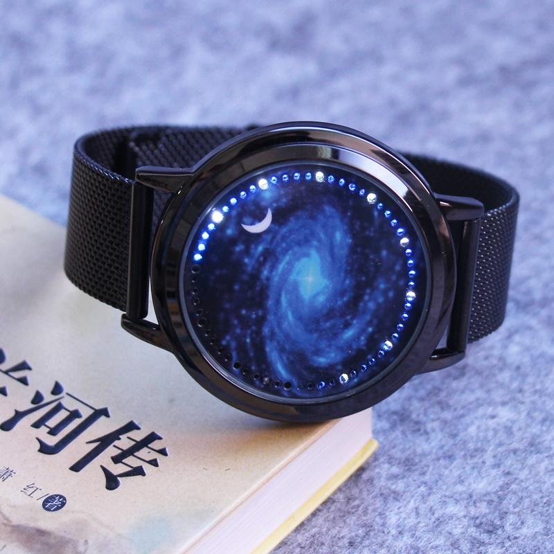 韩版个性智能创意发光简约指针手表满68.00元可用10元优惠券