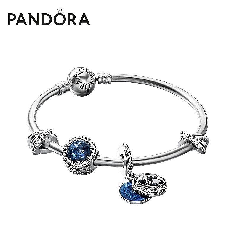 【雪梨推荐】Pandora潘多拉繁星童话ZT0013手镯套组送女友礼物图片
