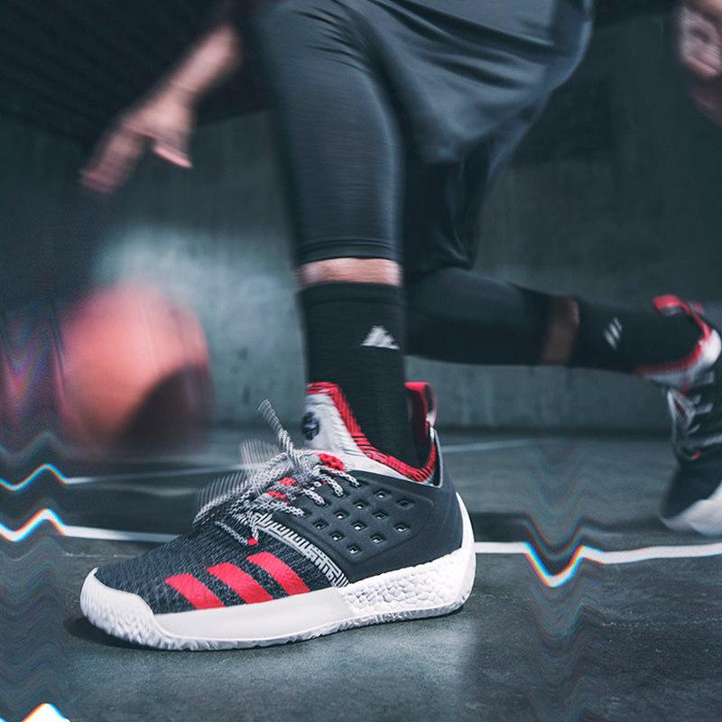 阿迪达斯男鞋2018夏新款Harden Vol. 2哈登实战运动篮球鞋AH2123