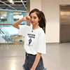 White t-shirt female summer Korean version of the new Harajuku style short-sleeved compassionate students bf wild loose short-sleeve clothes