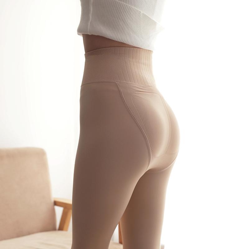 肉色女春秋冬季薄绒磨毛内穿连裤袜(用30元券)