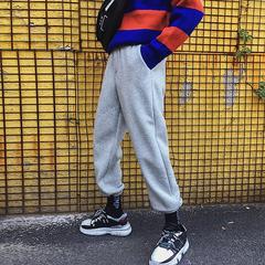 冬季男士加绒加厚卫裤宽松休闲裤XZ707-KZ223-P60