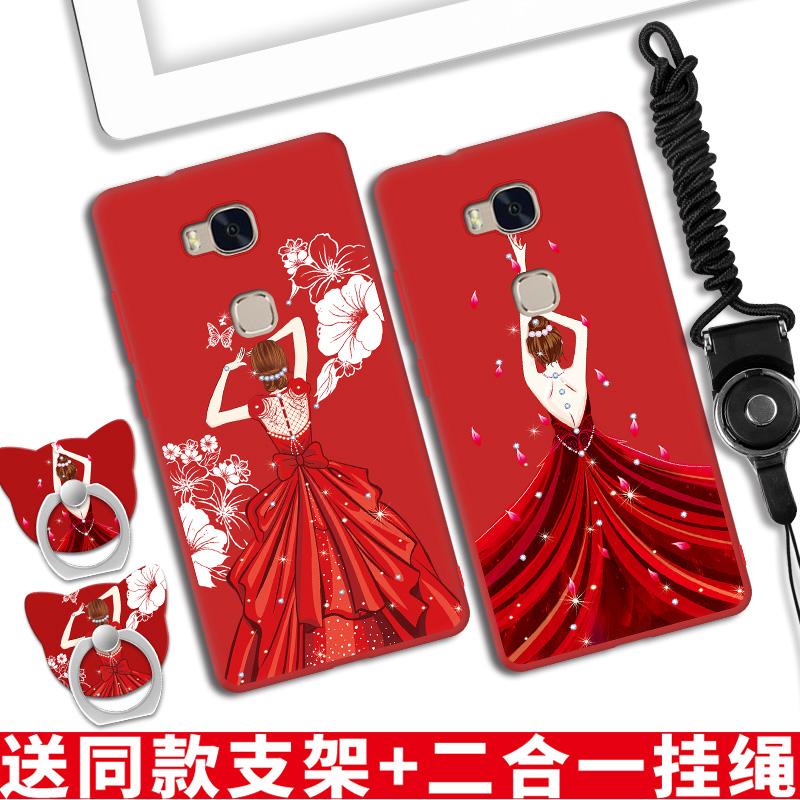 华为X5手机壳荣耀5X kiw-tlooh软cl00硅胶软壳al10外套klw-ul00女