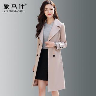 今年风衣大衣女装中长款小个子2020年新款春秋季气质高端大气外套
