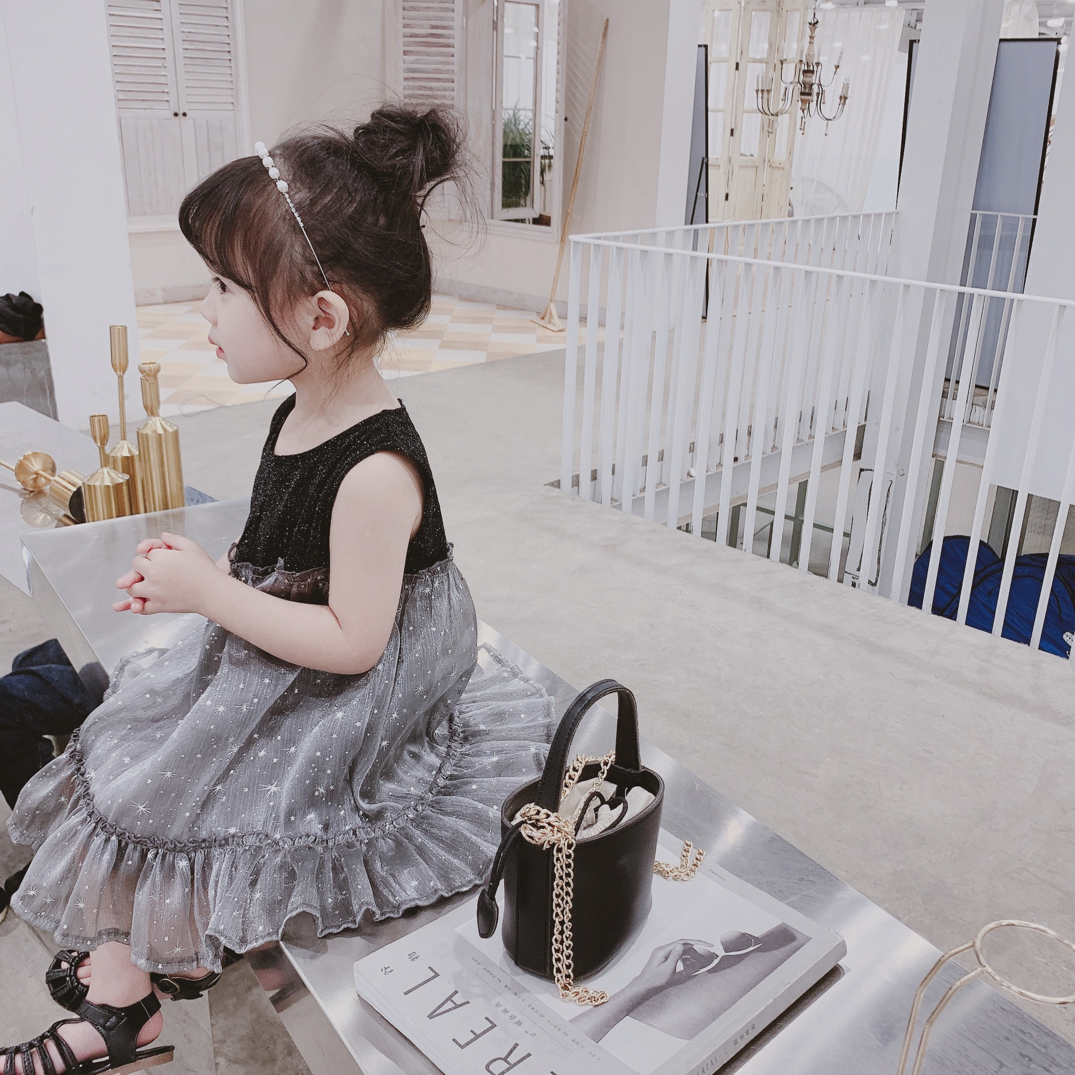 童装儿童夏装2019新款纱裙女童薄款夏季连衣裙宝宝短袖公主裙洋气券后35.00元