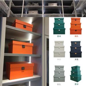 样板房间衣柜衣帽间收纳盒收纳箱