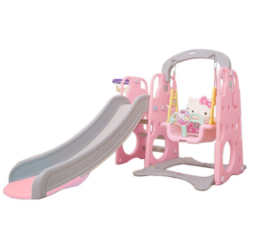 韩国进口yaya儿童小汽车滑滑梯1-3岁宝宝家用室内游戏屋驾驶玩具