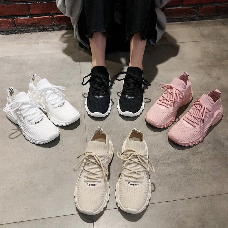 夏季老爹鞋透气网面
