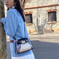 小ck手提透明果冻女包2020新款夏季简单大气单肩斜挎凯莉雨衣包包
