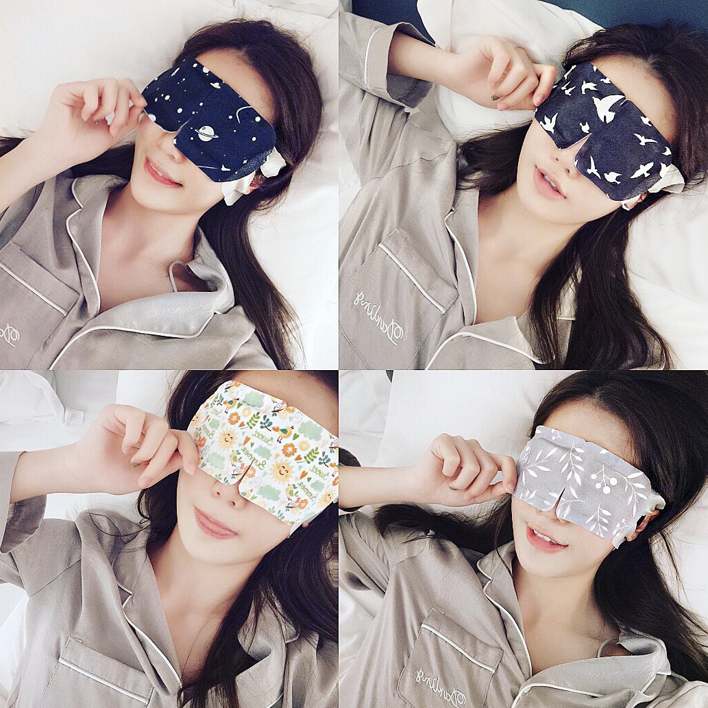 【Uni颖儿】 AMORTALS尔木萄蒸汽眼罩发热护眼助眠安神淡化黑眼圈