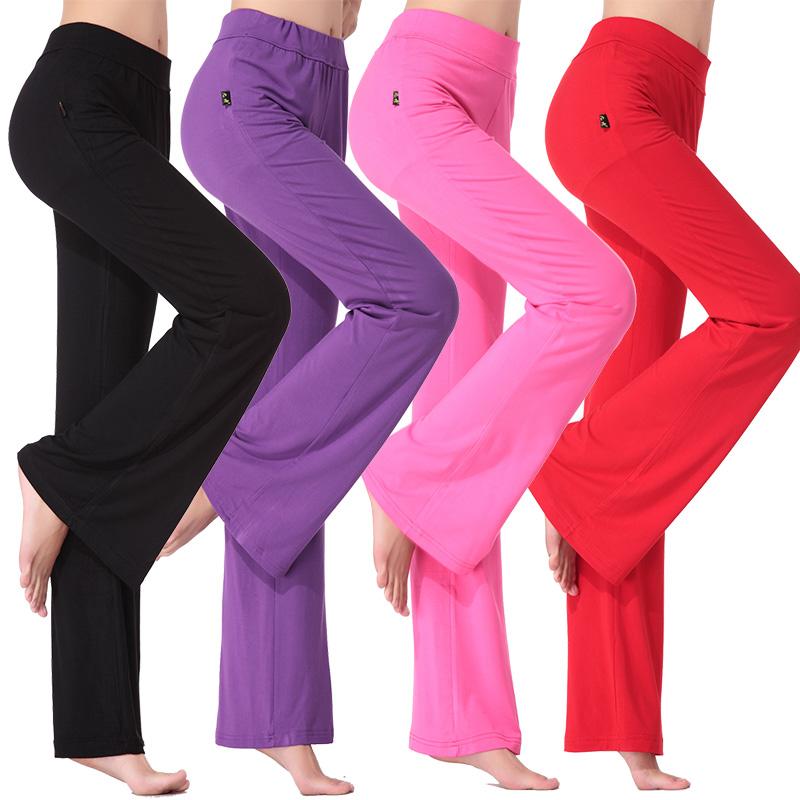 Одежда для танцев новая коллекция Женский танец длина брюк Брюки для фитнеса поколение Одежда для танцев большой размер Танцевальная одежда весна и лето