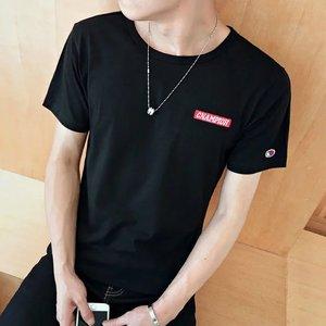 特价9.9包邮t恤男士韩版学生修身短袖男九块九男装便宜10元下衣服