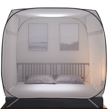 Gujin yurt mosquito net 1.2 m bed square top free installation encryption thickening 1.5/1.8m bed double home
