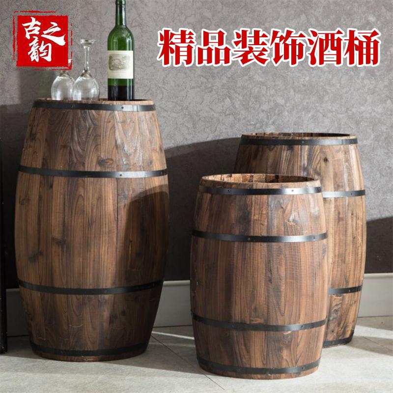 Специальное предложение горячей деревянный пиво баррель декоративный вино баррель на открытом воздухе дуб в бутылках украшения бар свадьба выставка может реквизит