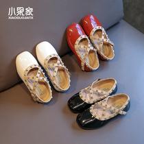 女童皮鞋公主鞋儿童鞋子韩版潮范儿软底单鞋洋气2020年春季女孩鞋