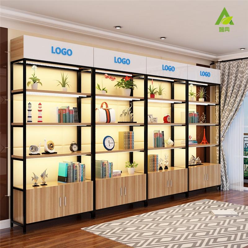 灯箱化妆品产品样品展柜货架包包展示柜货柜书柜精品展示架陈列柜