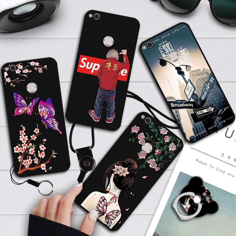 华为荣耀8青春版手机壳PRA-AL00X保护套软壳PRA-LX2磨砂浮雕TL10