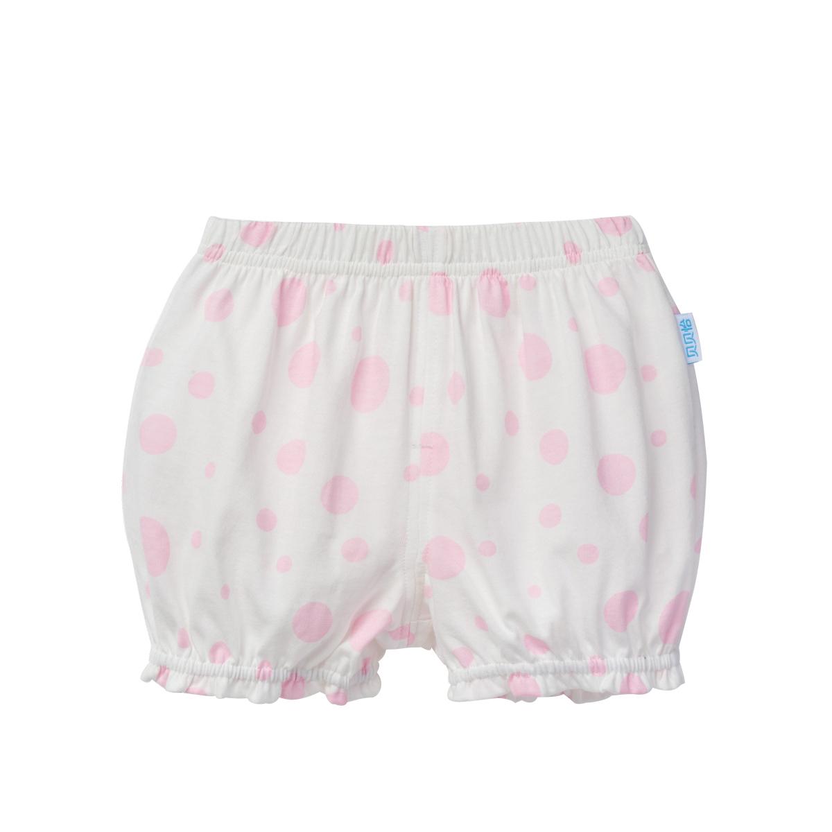 貝貝怡純棉寶寶嬰兒燈籠褲