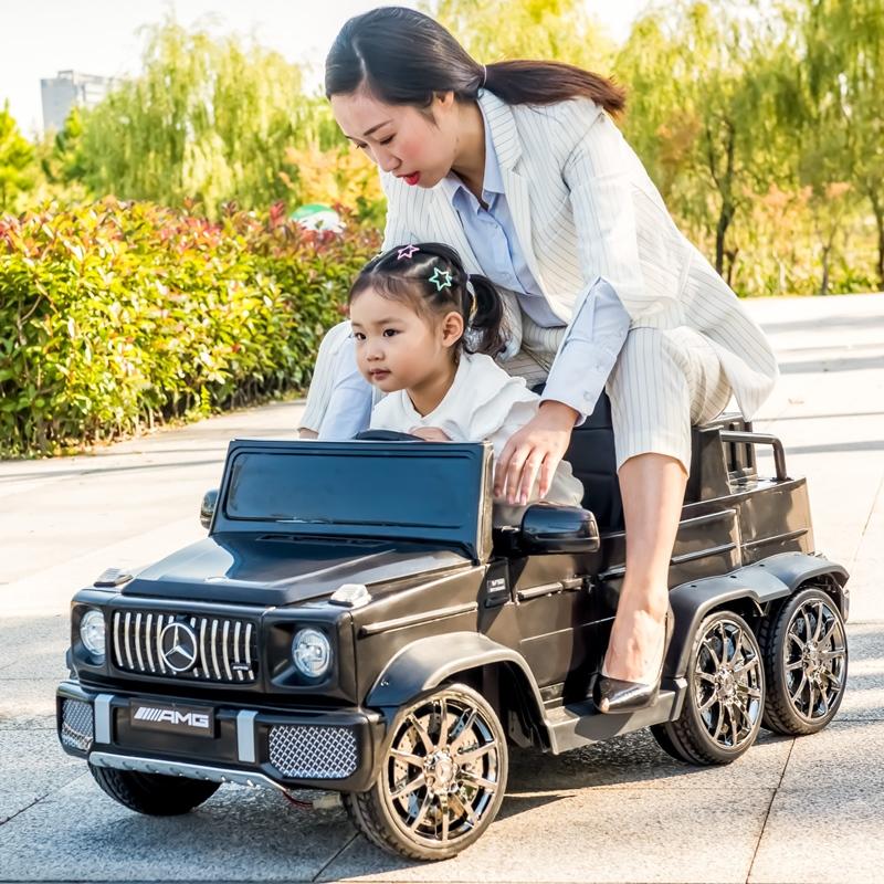 奔驰大g儿童四轮遥控越野电动车质量如何