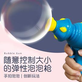 弹力烟雾泡泡机少女心补充液泡泡枪大泡儿童吹泡泡泡泡机网红同款图片