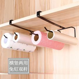 厨房纸巾架免打孔冰箱厕所收纳架侧挂架创意收纳置物架保鲜膜架子