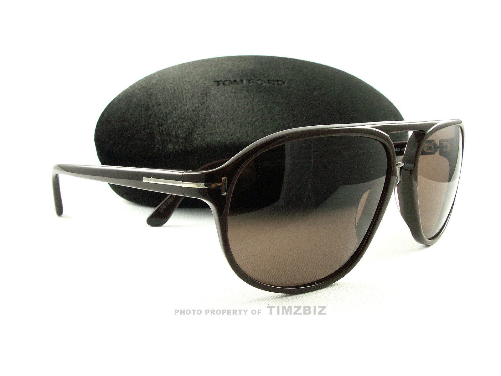 代购汤姆福特太阳眼镜TF447雅各49 j棕色FT0447/S墨镜男女个性